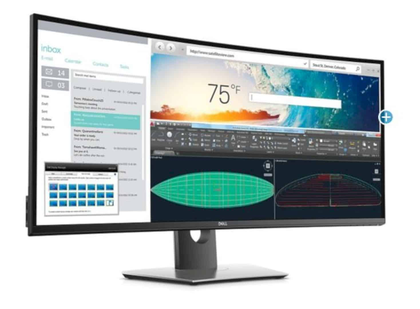 Dell UltraSharp 38 Curved Monitor 3