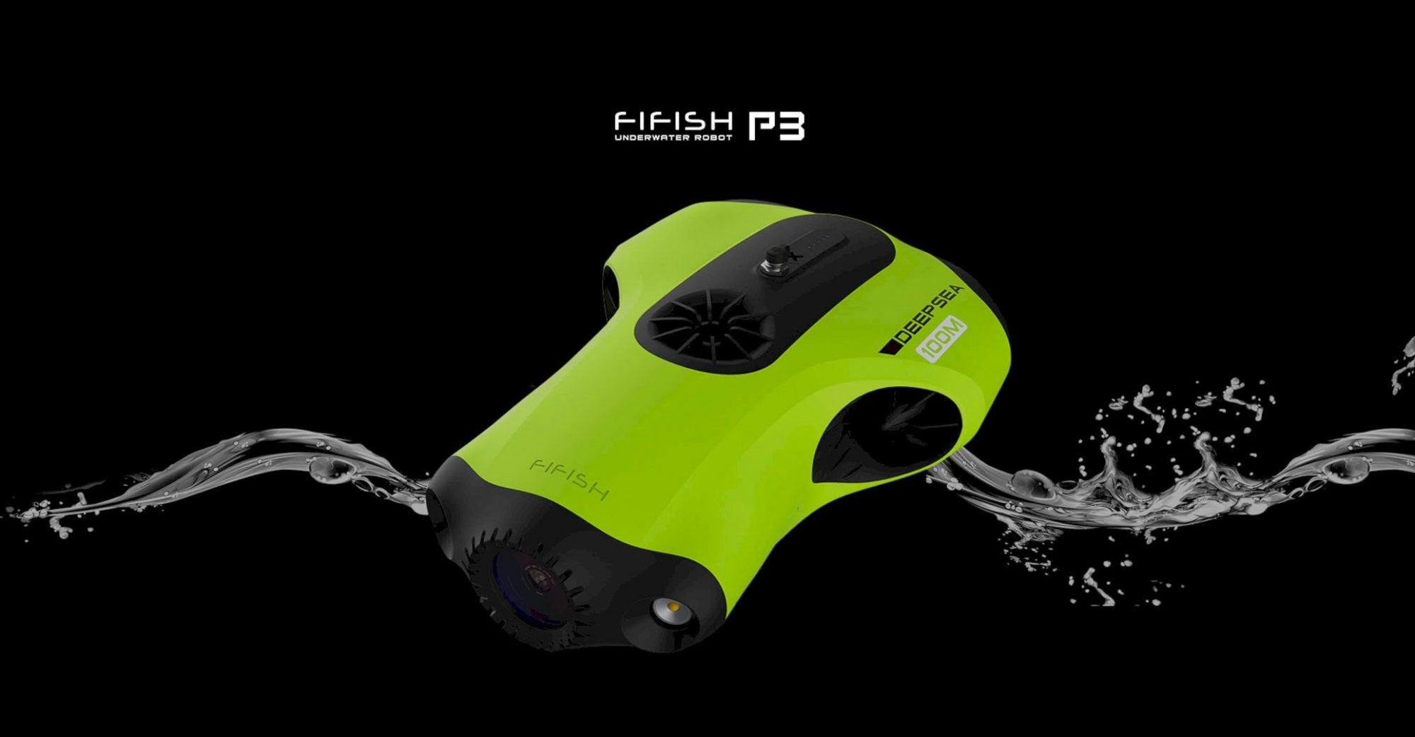 Fifish P3: First Truly Professional Underwater Robot