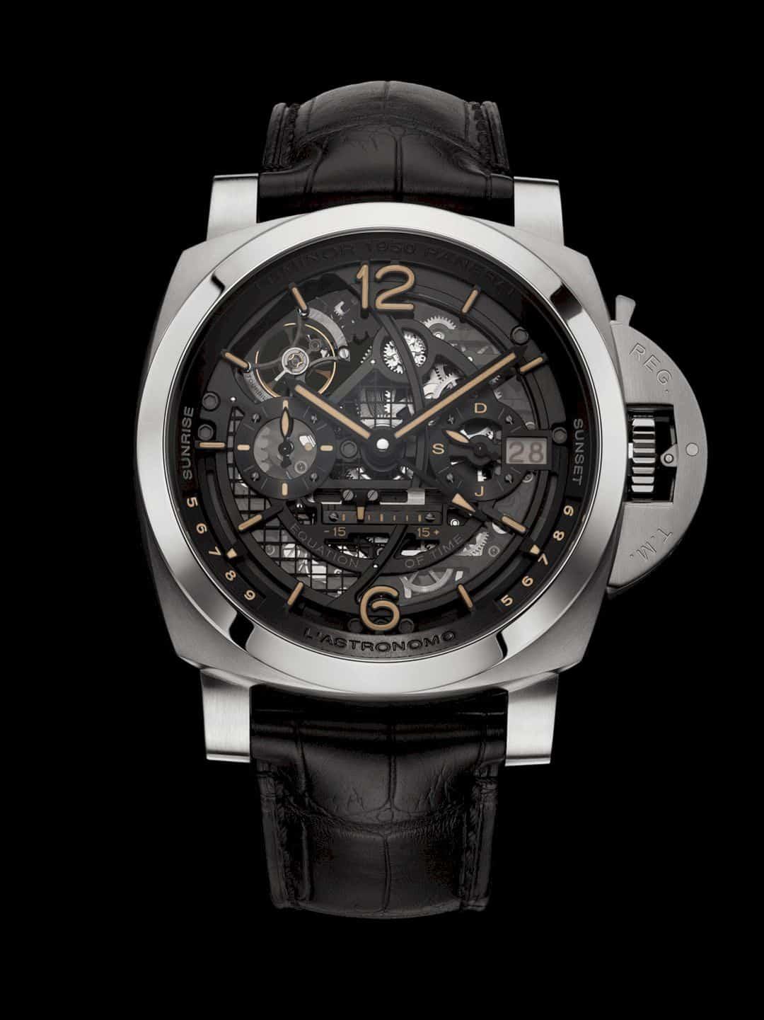 L'Astronomo Luminor 1950 Tourbillon Watch 1
