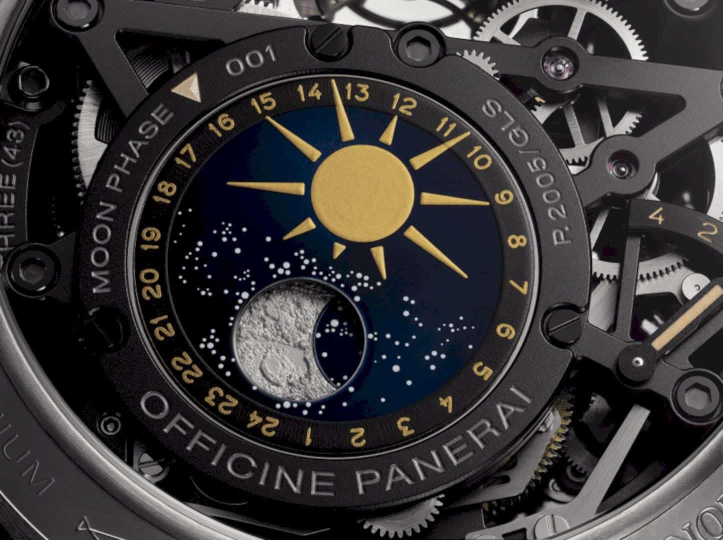 L'Astronomo Luminor 1950 Tourbillon Watch 2