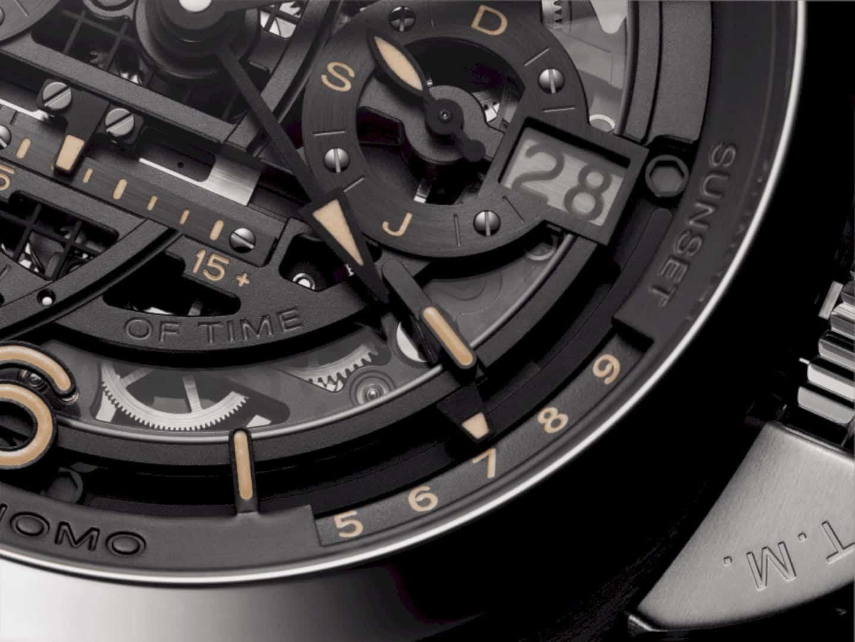 L'Astronomo Luminor 1950 Tourbillon Watch 4