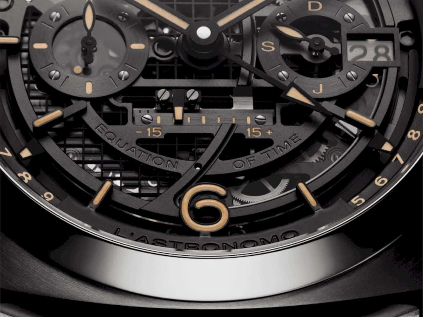 L'Astronomo Luminor 1950 Tourbillon Watch 5
