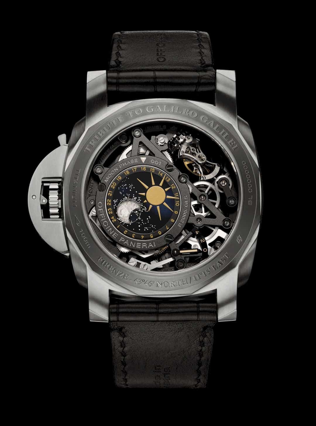 L'Astronomo Luminor 1950 Tourbillon Watch 8