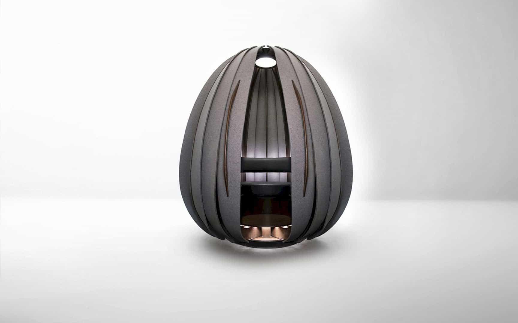 Open Vessel: Architectural Meditation Pod