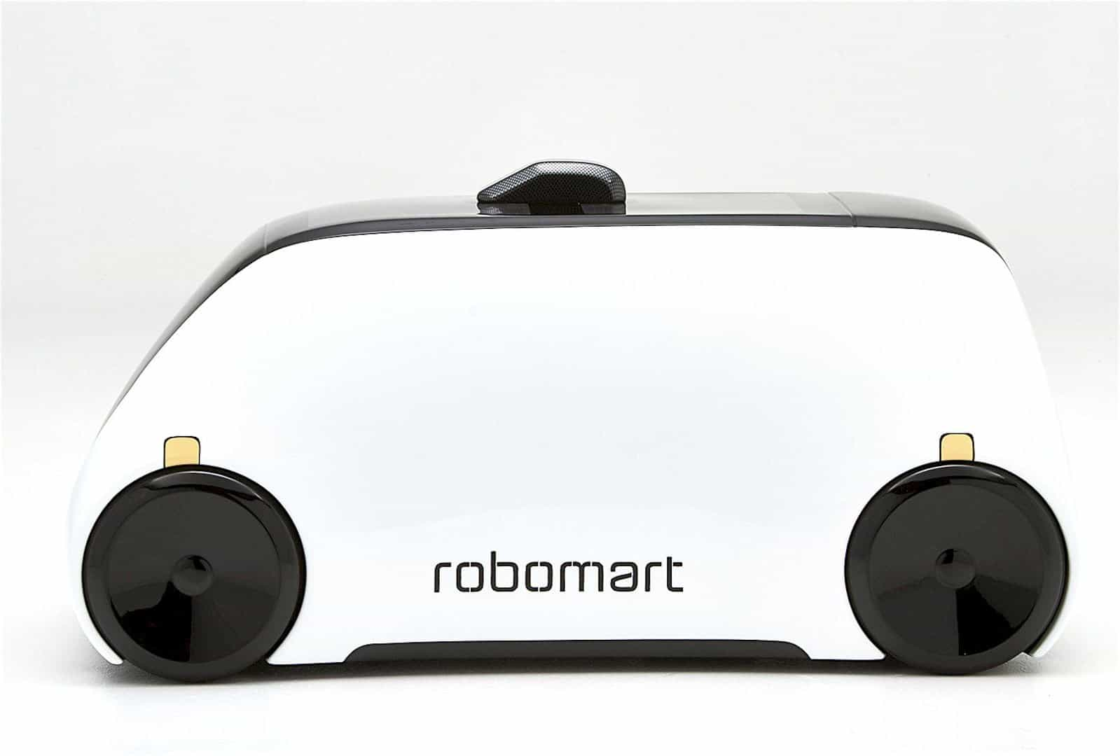 Robomarts: The World's First Self-Driving Store