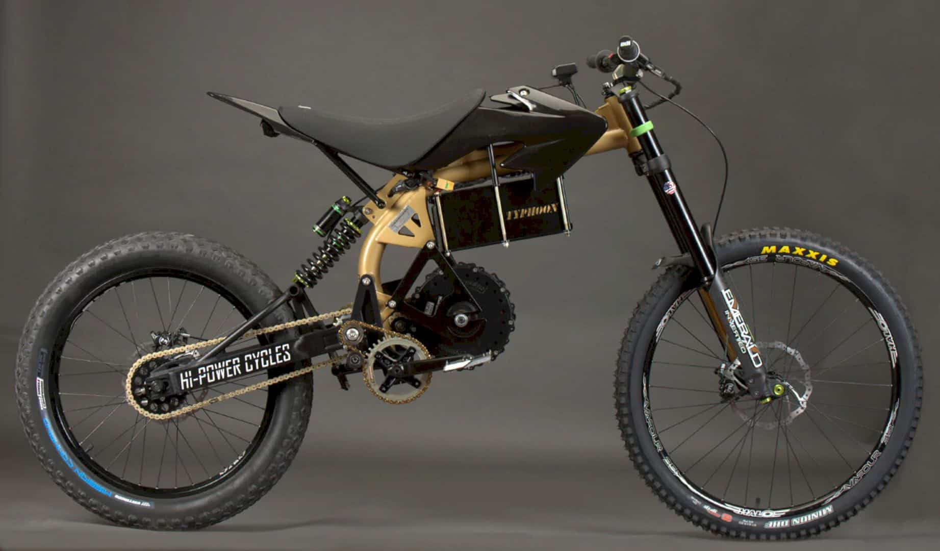 The Ruler of Electric Mountain Bike is Here: HPC Typhoon Pro