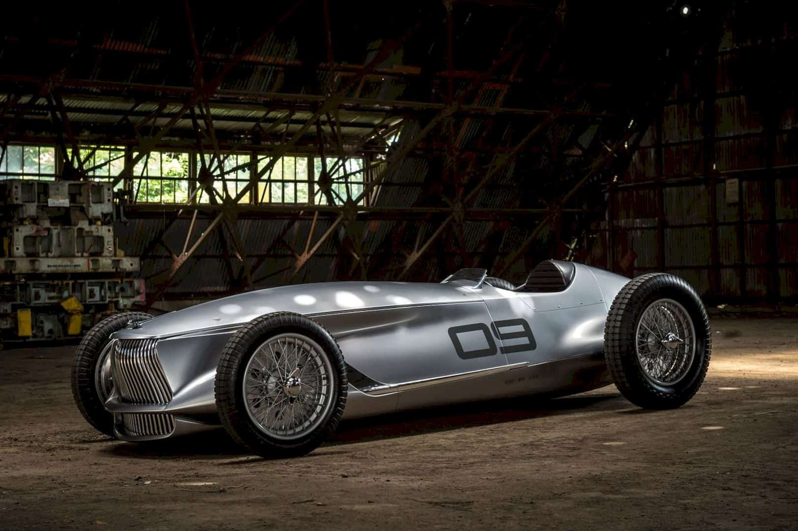 INFINITI Prototype 9 Concept: The Old New Perspective in Retro-Faced Electric Car
