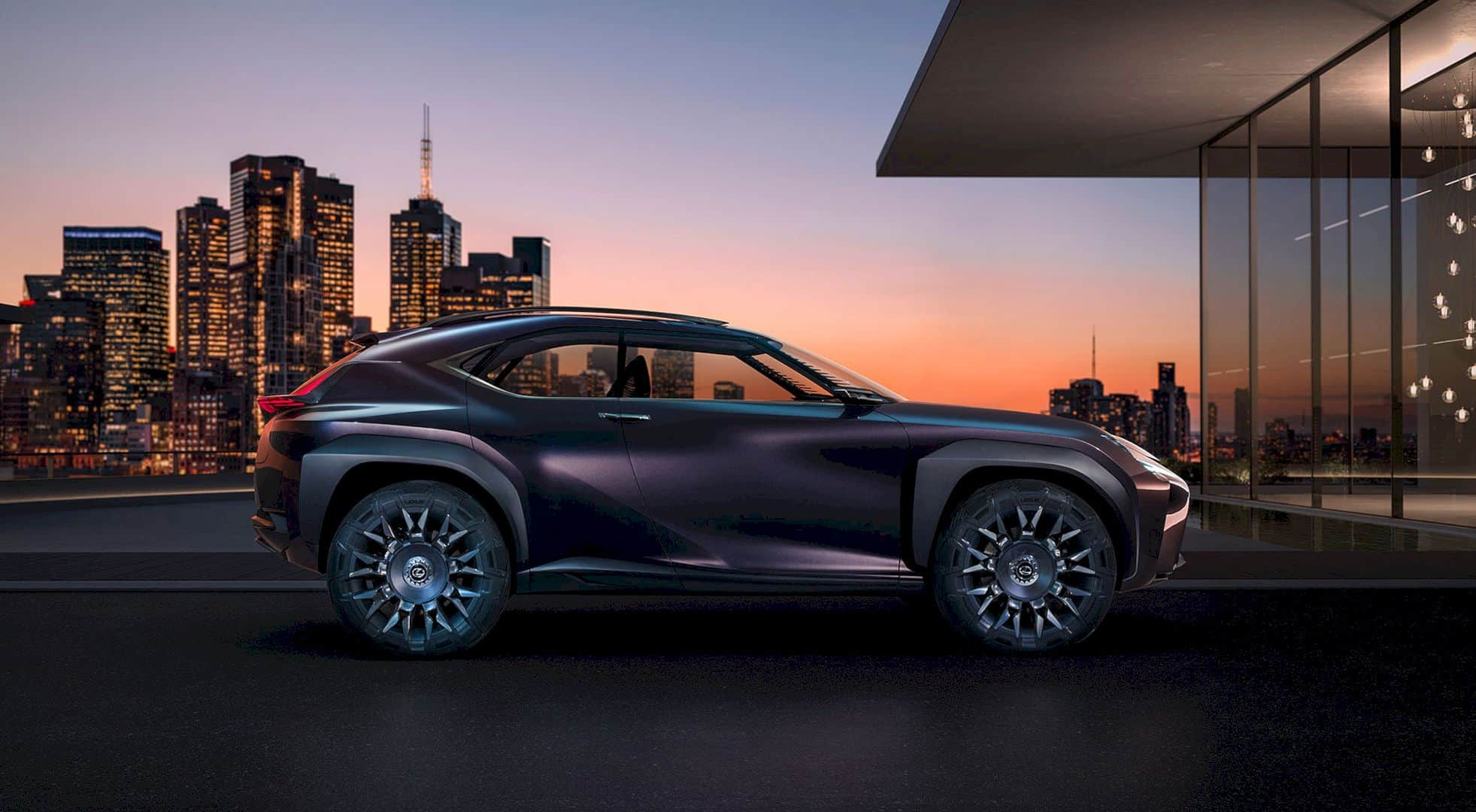 Lexus Concept Car Code UX: A Futuristic Inside Out