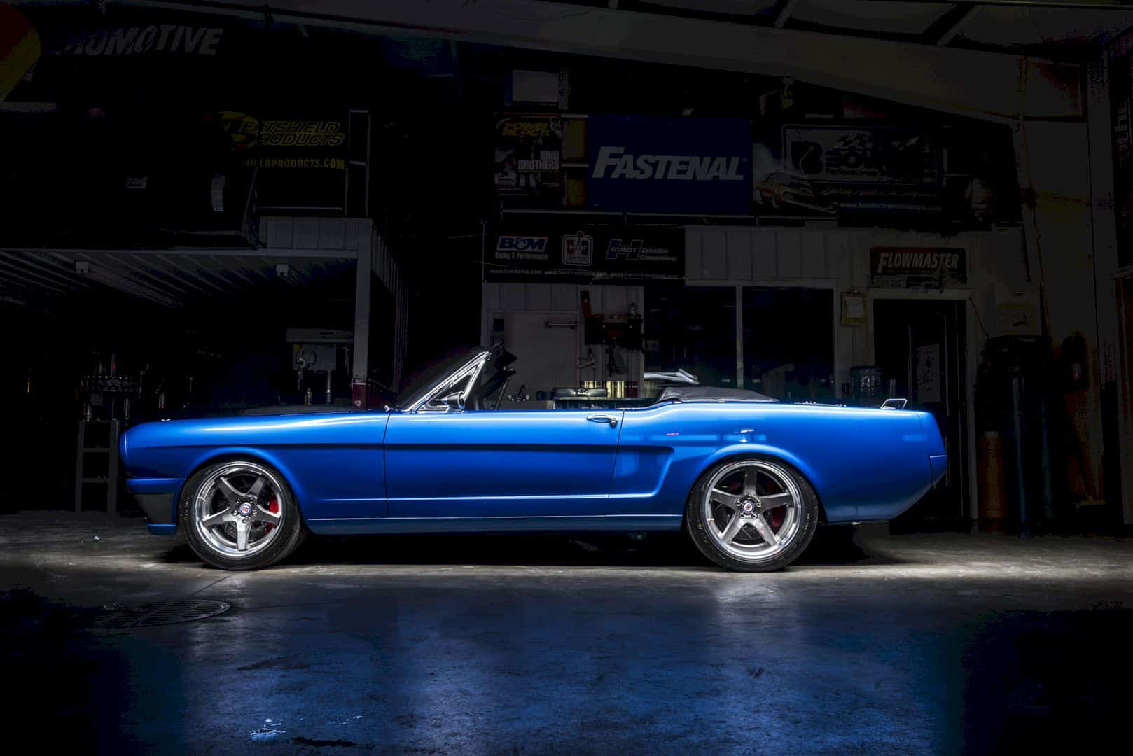 Ringbrothers' 1965 Mustang Ballistic Revamp The Class of Mustang