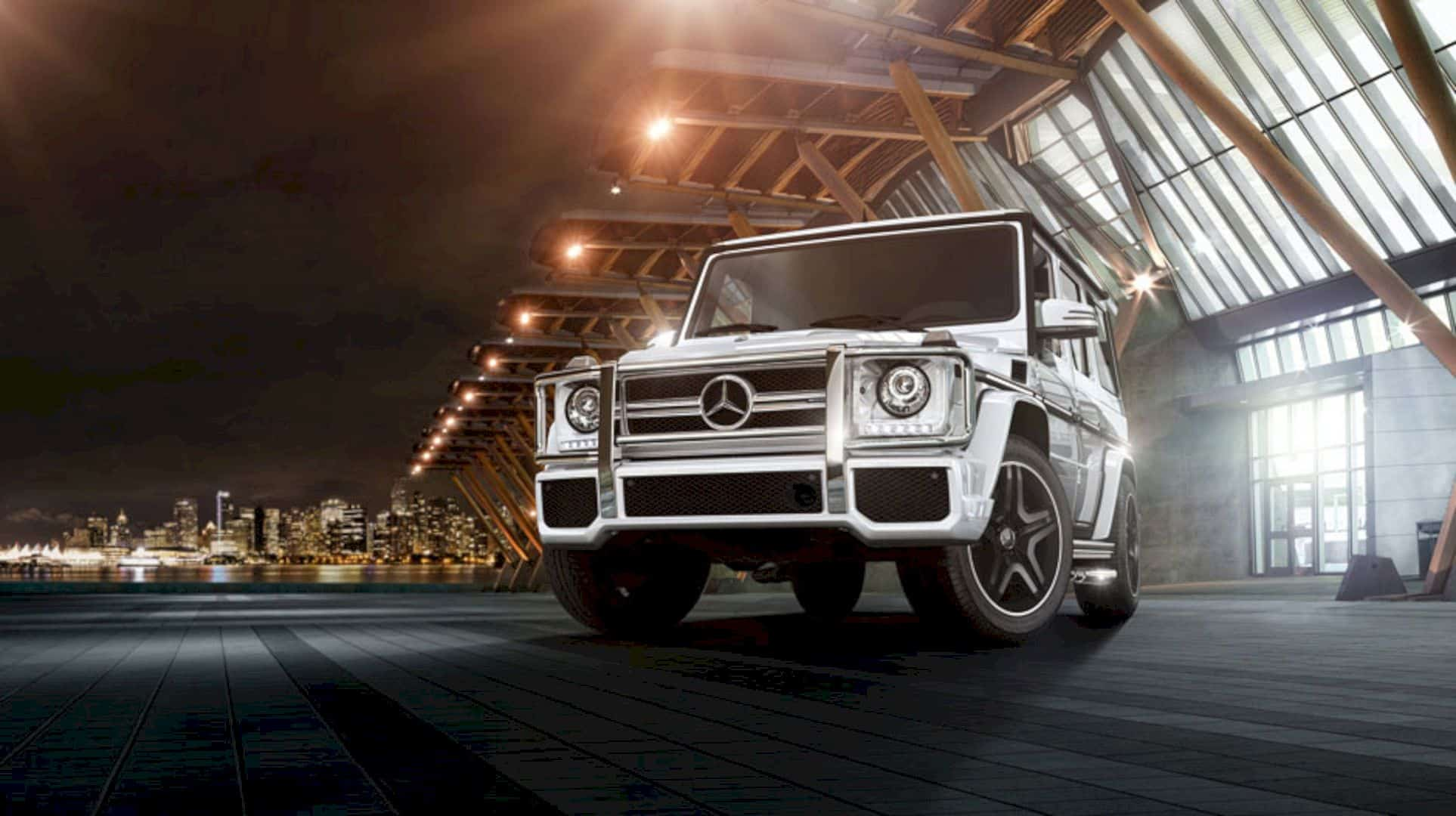 The New Mercedes Benz G Class 1