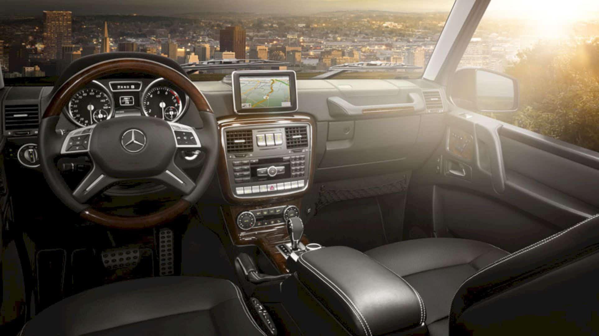The New Mercedes Benz G Class 4