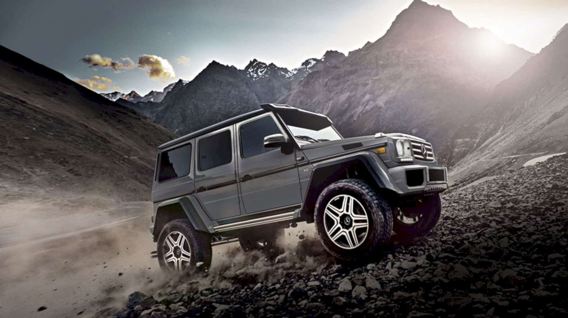 The New Mercedes Benz G Class 6