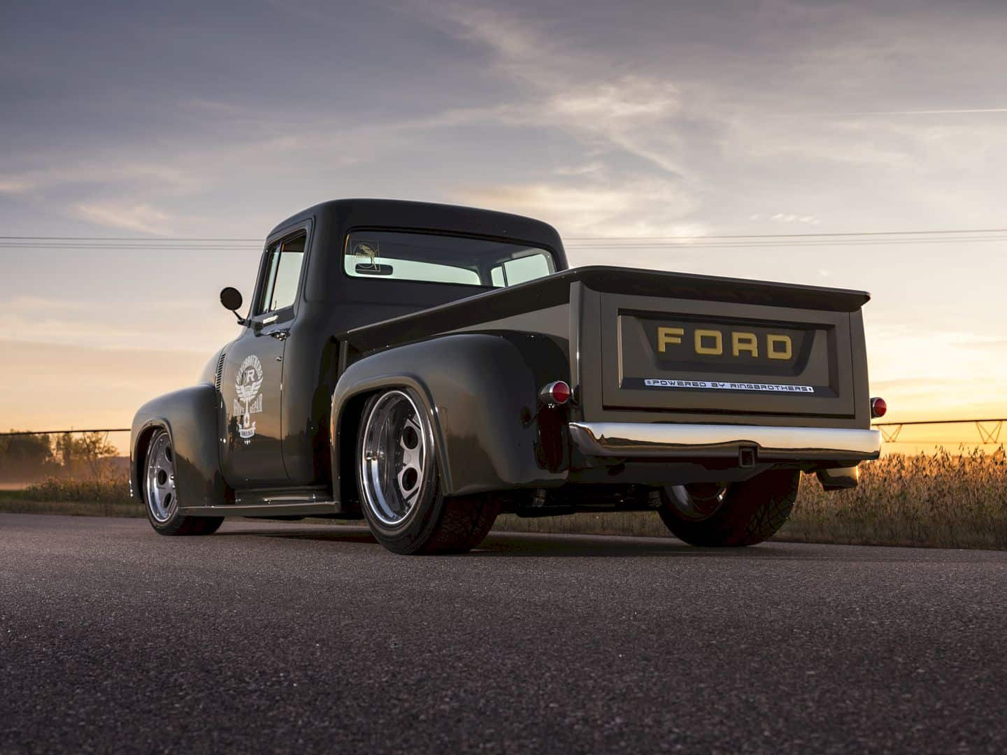 1956 Ford F100 Truck Clem 101 by Ringbrothers: The Epitome of Truck by Ford