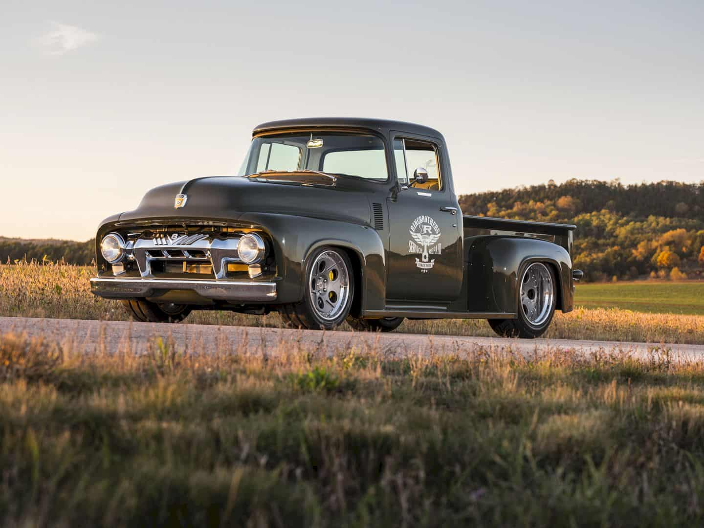 1956 Ford F100 Truck Clem 101 By Ringbrothers 7