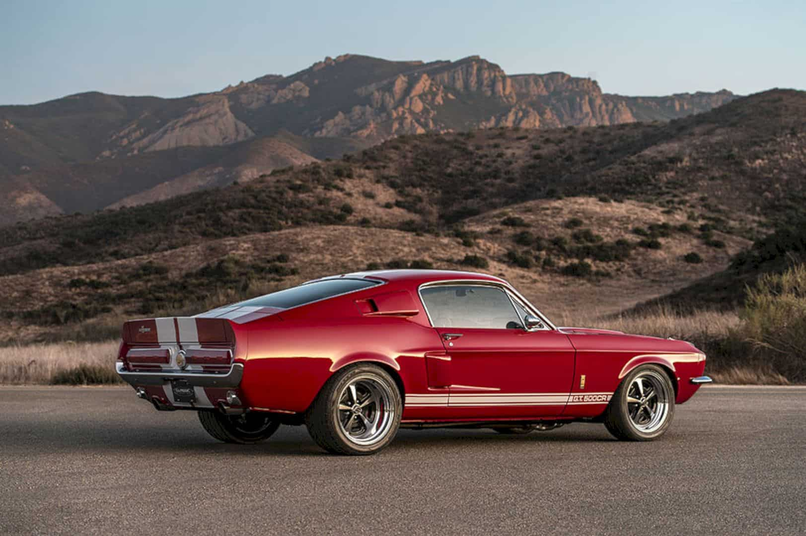 1967 Ford Mustang Shelby G T 500cr By Classic Recreations 7