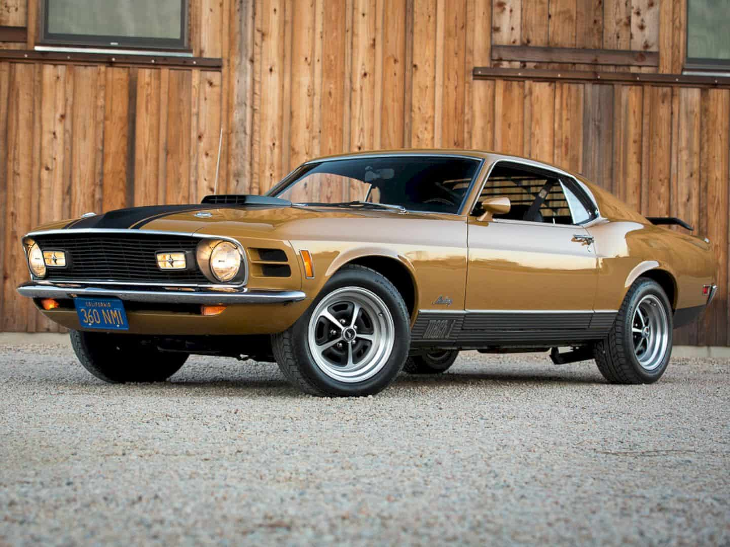 1970 Ford Mustang Mach 1 By Corvette Mike 1