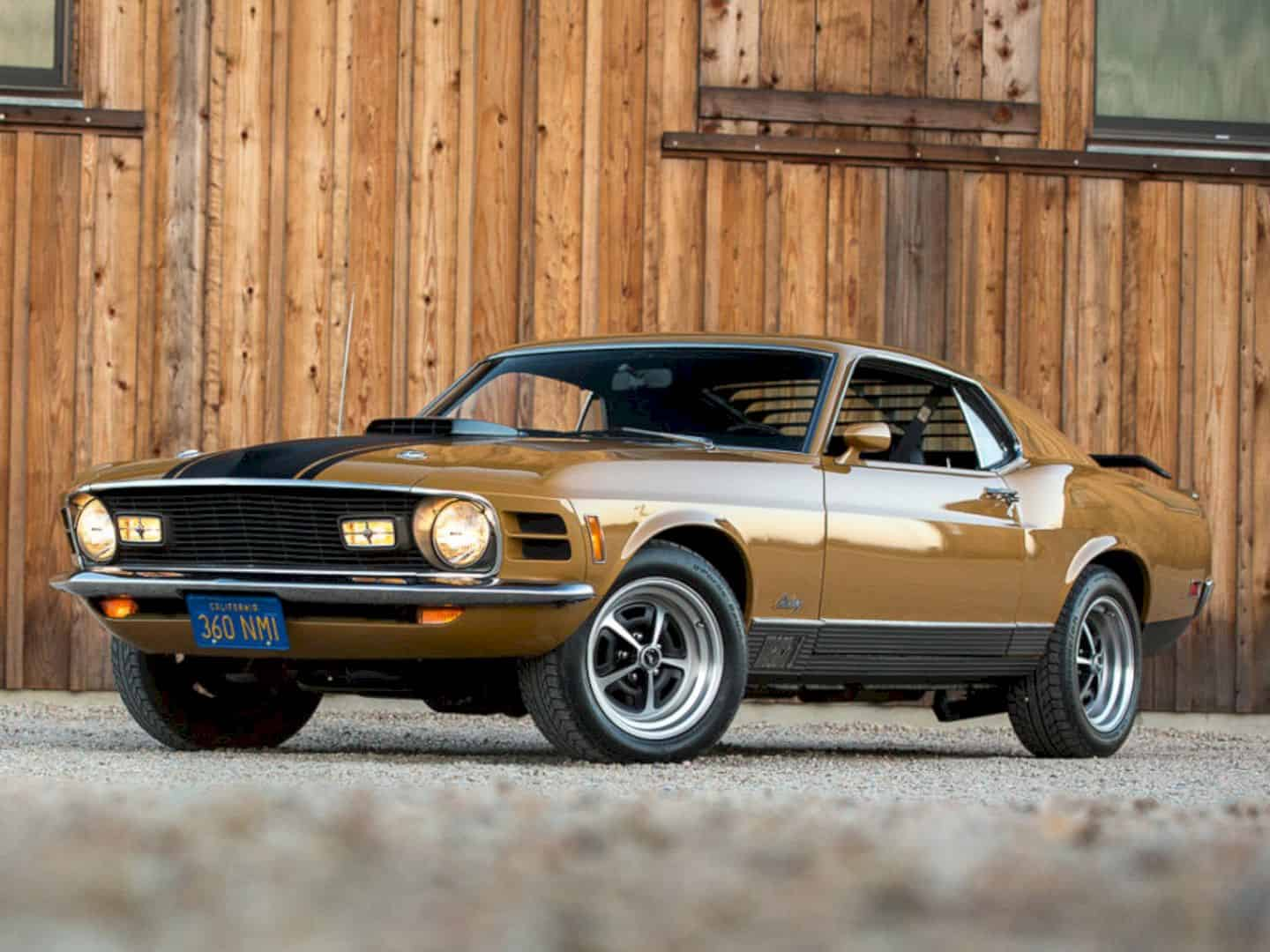 1970 Ford Mustang Mach 1 By Corvette Mike 8