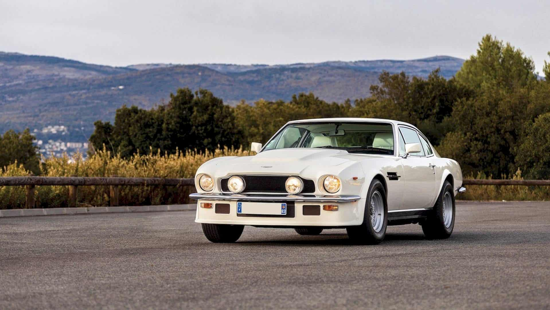 1983 Aston Martin V8 Vantage V580 Oscar India Rewrite The History Of Antique Car