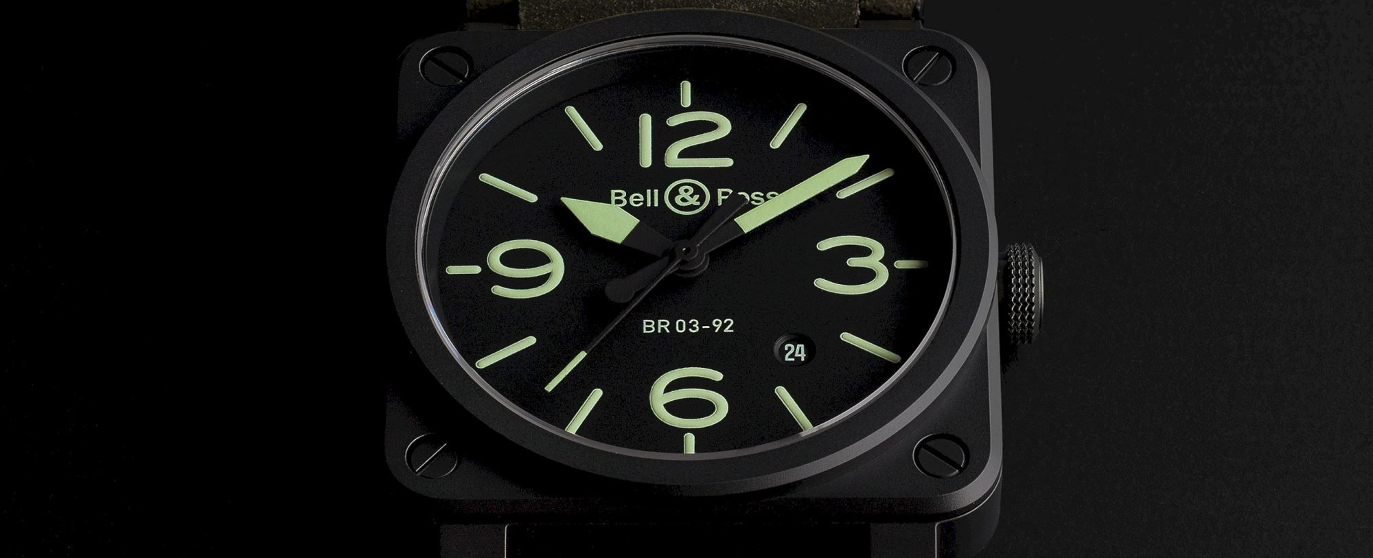 BR 03-92 NIGHTLUM: A Stylish Water-Resistance Watch from Bell Ross