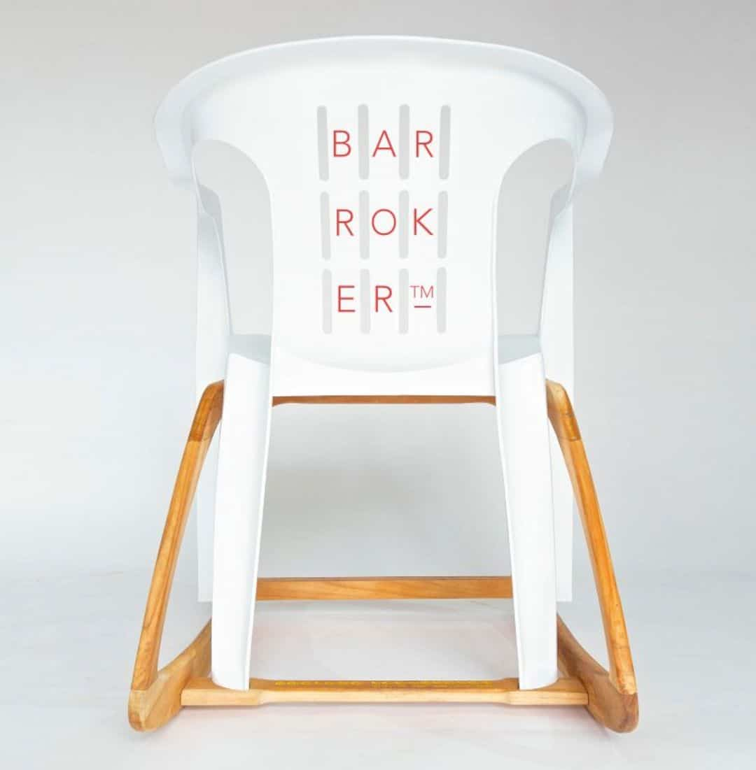 Bar Roker: An Extremely Comfortable Rocking Chair with Contemporary Design