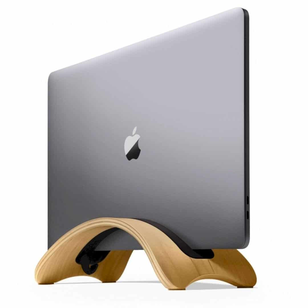 BookArc möd: The Best Luxury Hardwood Stand for MacBook