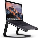 Curve: An Elegant Aluminum Stand for Your MacBook