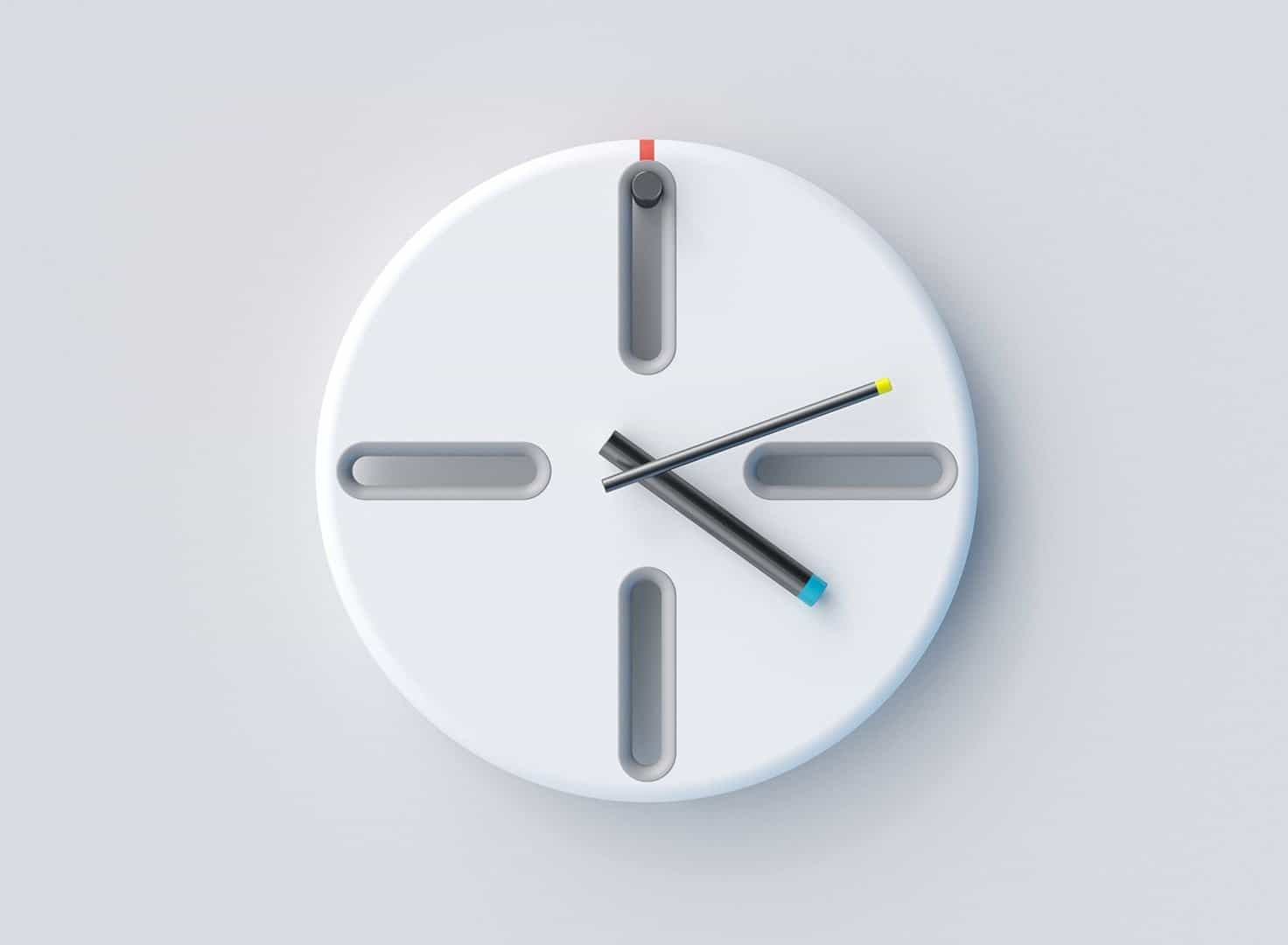 PEG Clock: A Clock with Honest Minimalist Design