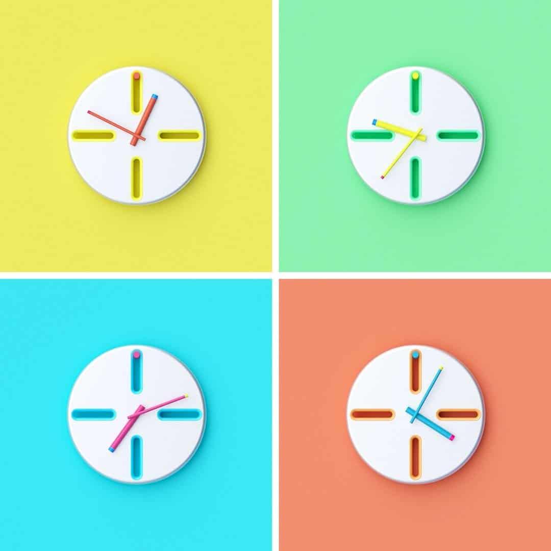 PEG Clock 4