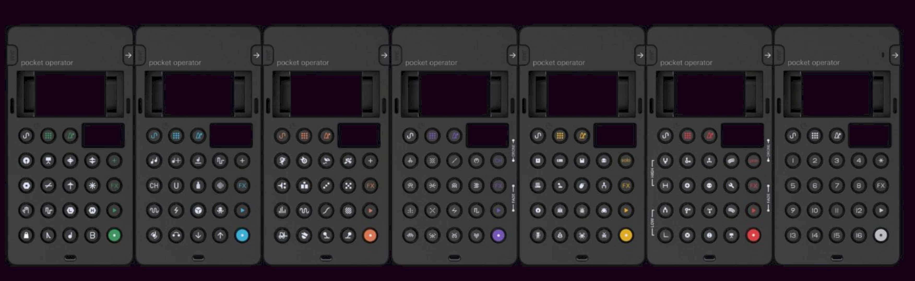 Pocket Operators 14