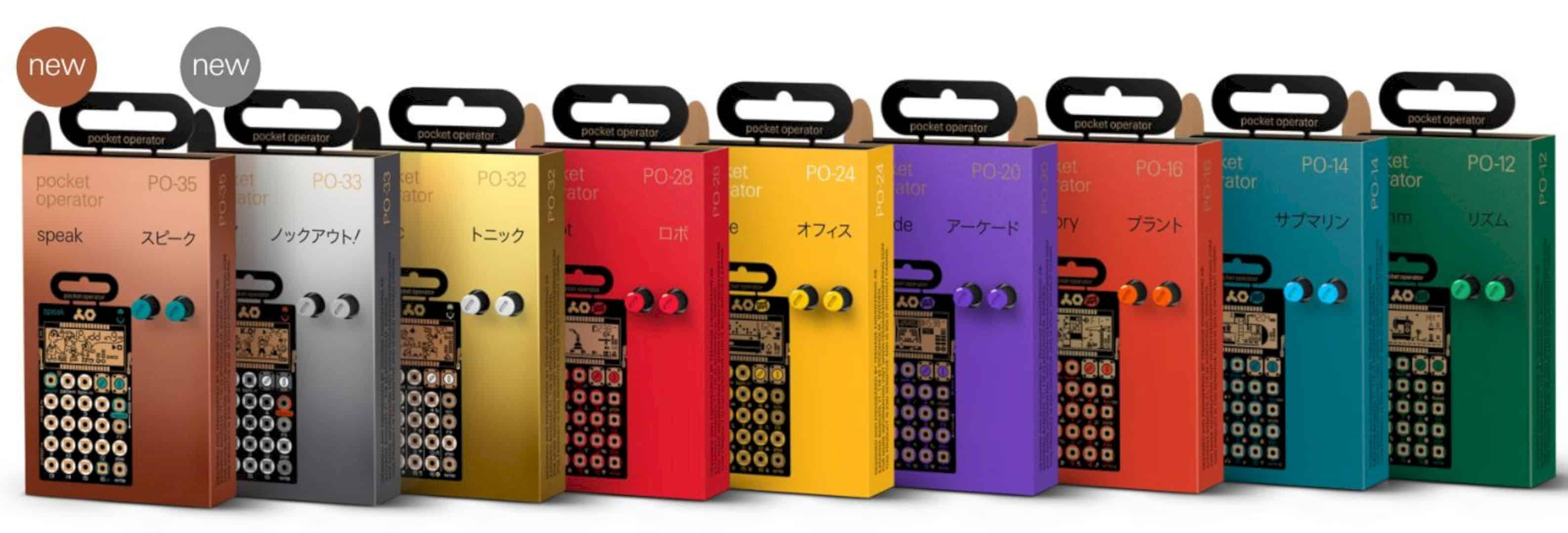 Pocket Operators 4