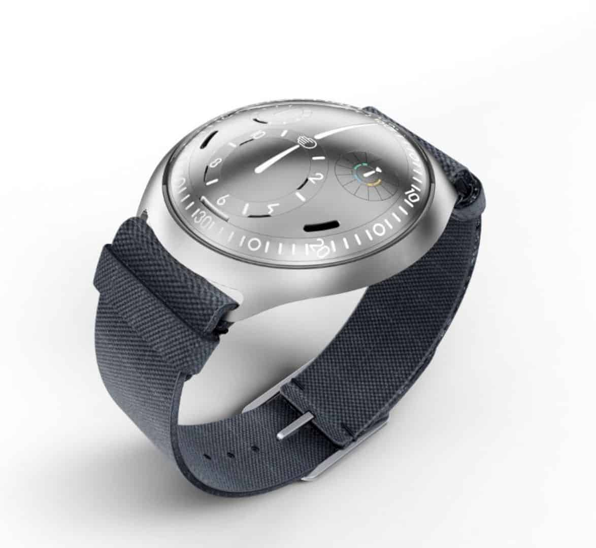 Ressence Type 2 e-Crown® Concept: The First Self-Setting Mechanical Watch Ever