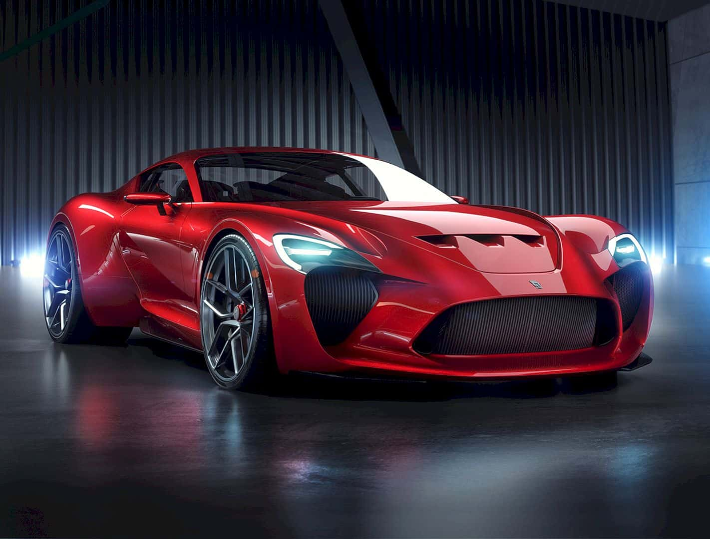 Get on the Stunning Ferrari 612 GTO III Renderings by Sergey Dvornytskyy for Sasha Selipanov