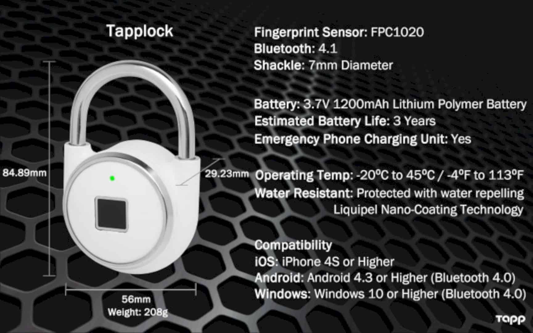 Tapplock 3