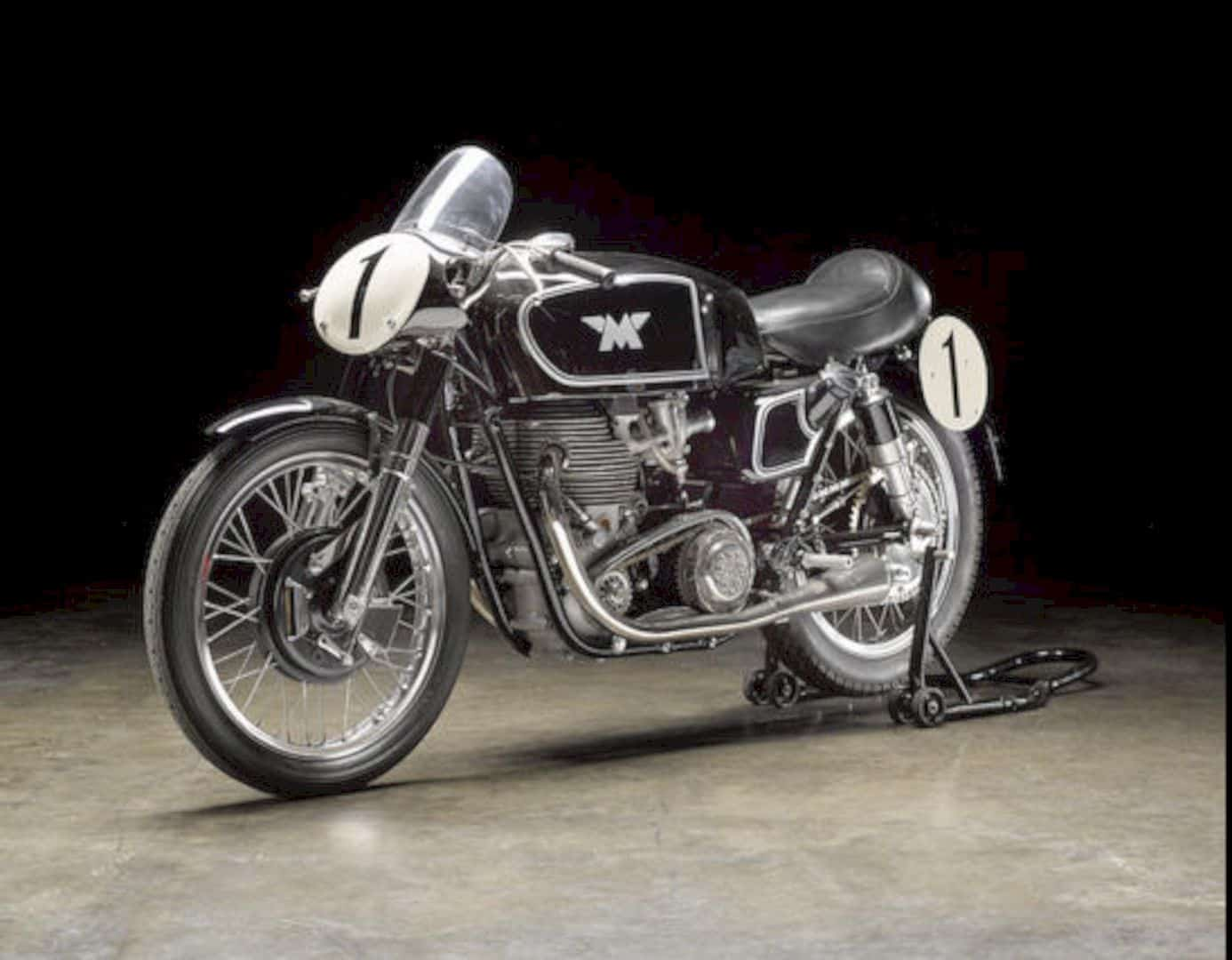 The 1955 Matchless 498cc G45 Motorcycle 2