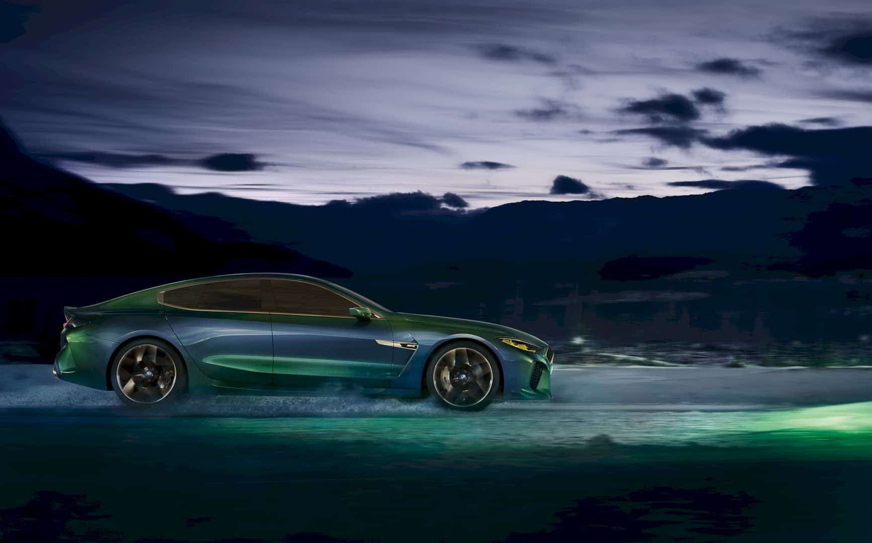 The BMW Concept M8 Gran Coupe – The Taste of Future from the Premium Brand