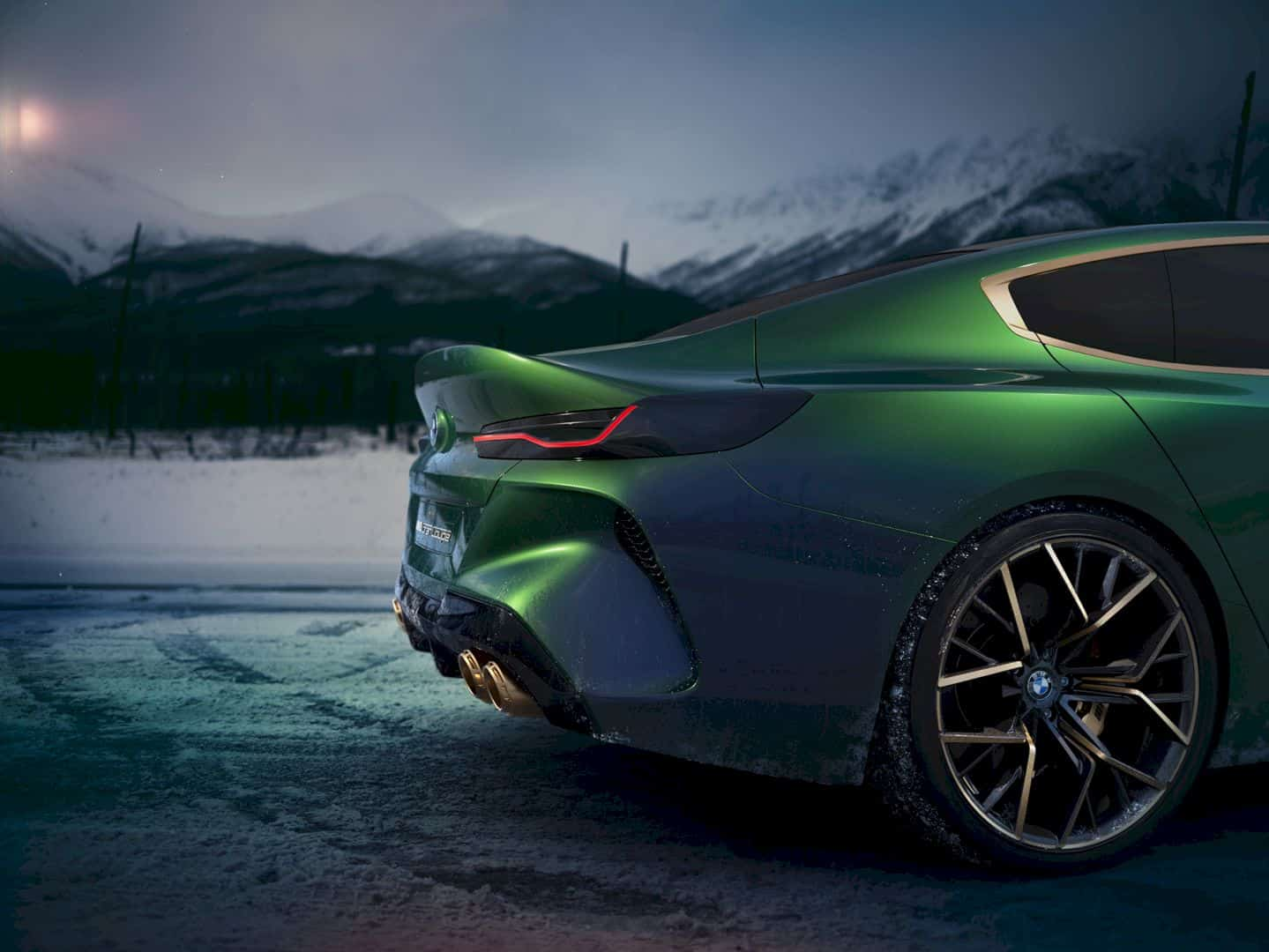 The Bmw Concept M8 Gran Coupe 2