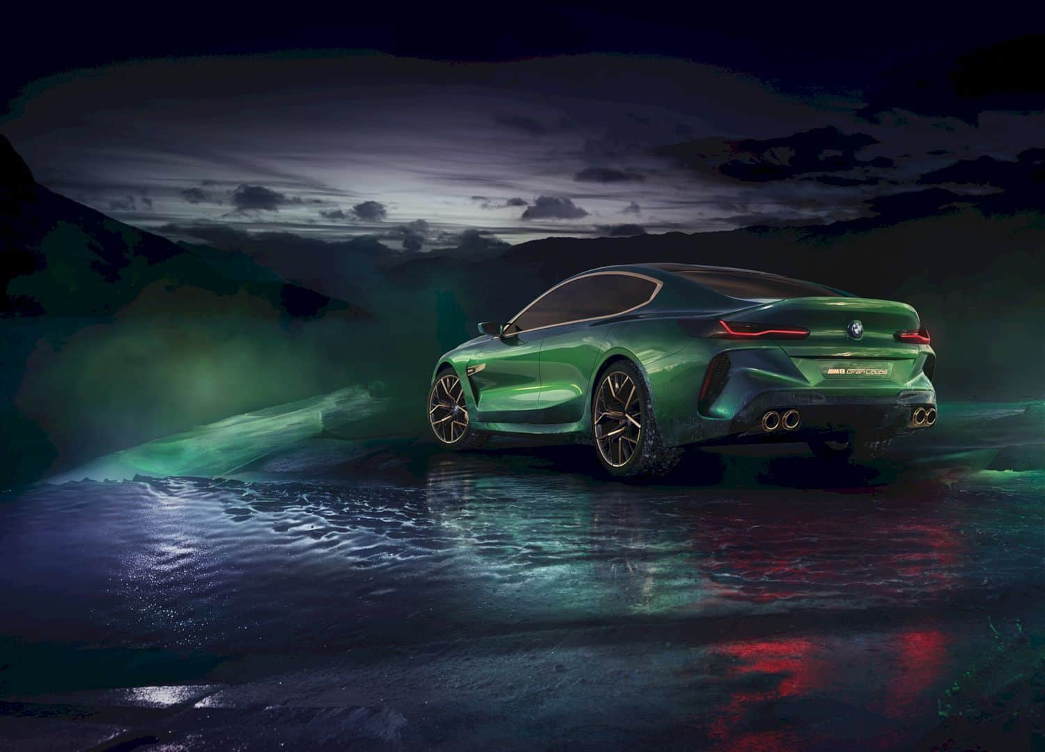 The Bmw Concept M8 Gran Coupe 3