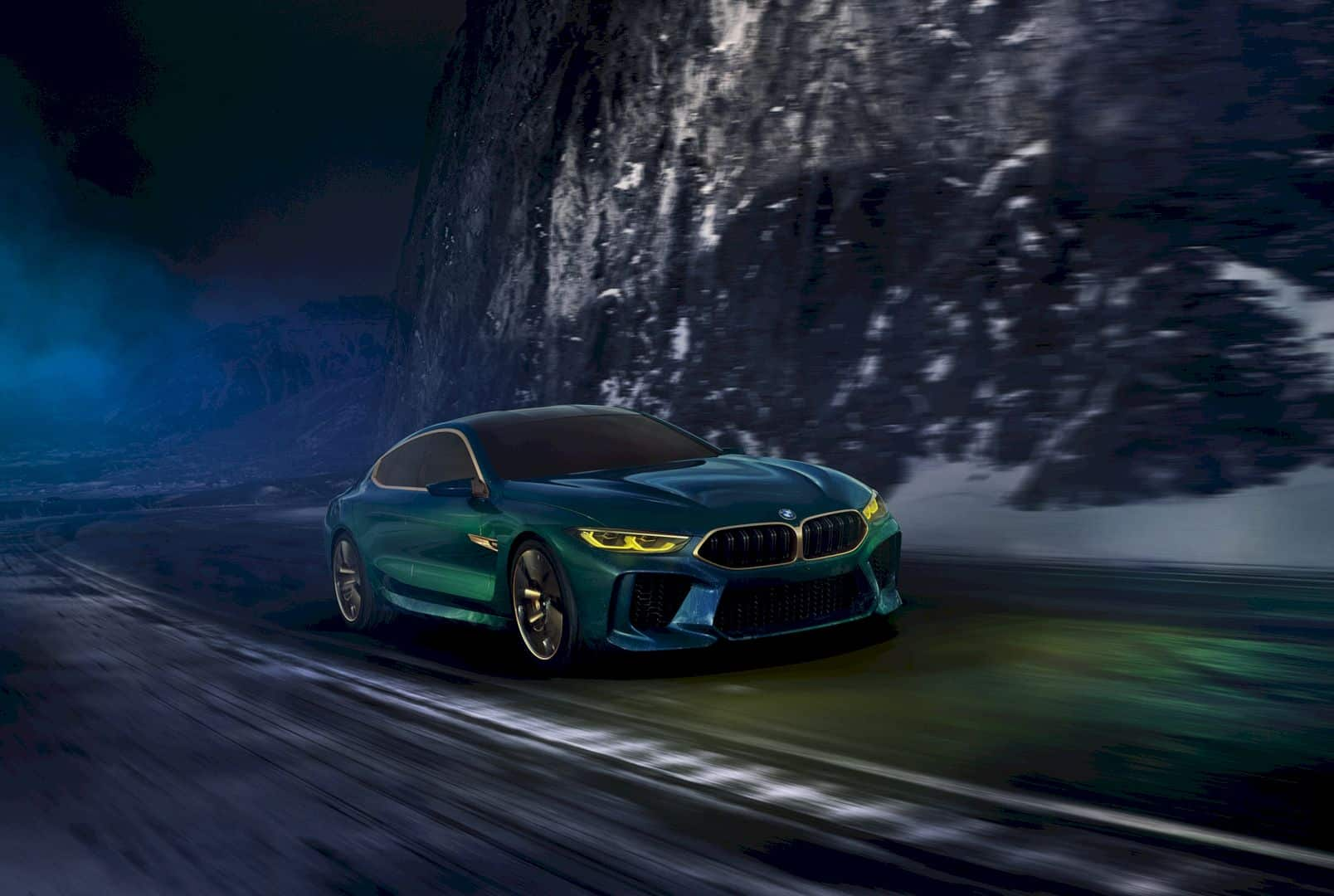 The Bmw Concept M8 Gran Coupe 7