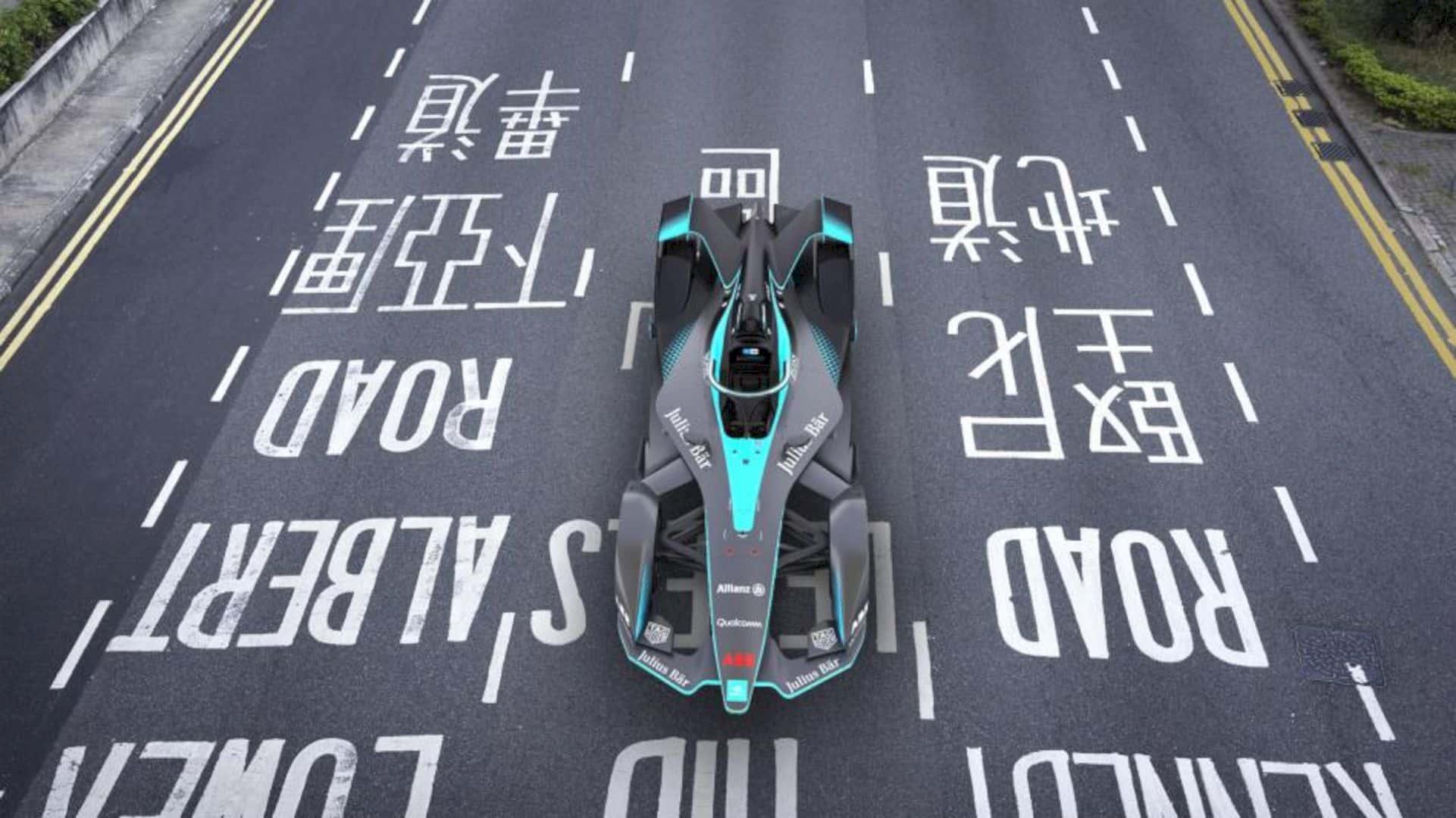The Gen2 Formula E 3