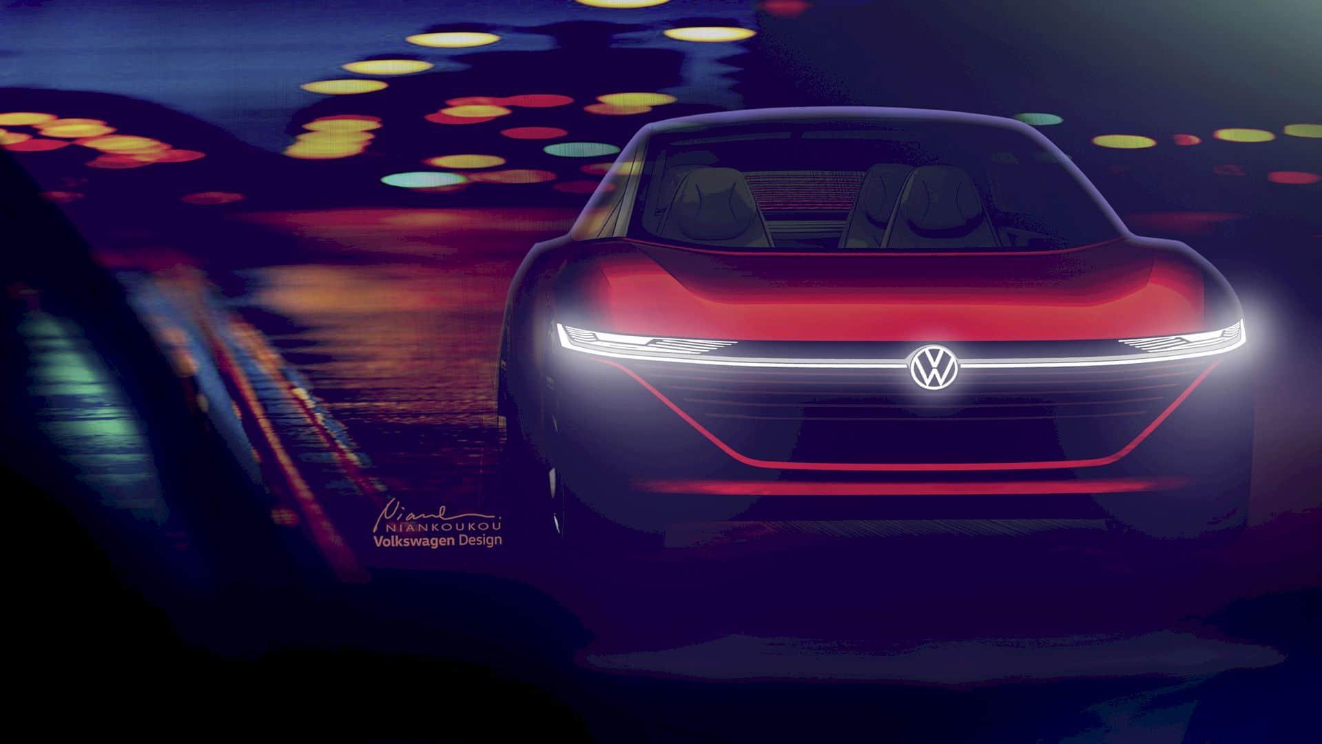 Volkswagen I D Vizzion 6