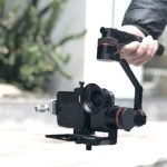 Kylin M: A Portable 3-Axis Stabilizer for Your Lightweight Cameras
