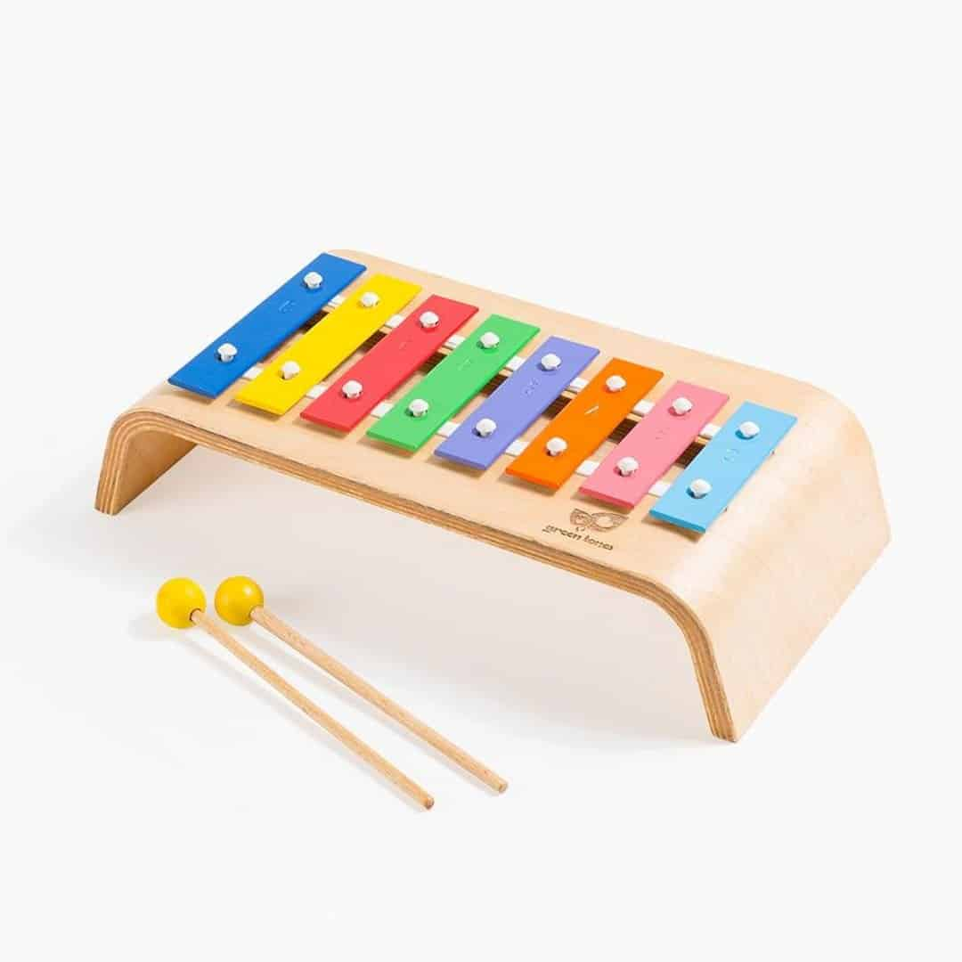Melody Glockenspiel: Colorful Fine-Tuned Junior Instrument for Fun Playtime