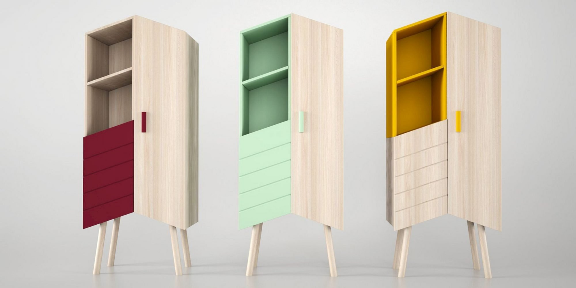 Tilbo Storage Unit: Contemporary Storage Unit for Dynamic Look in Your Home