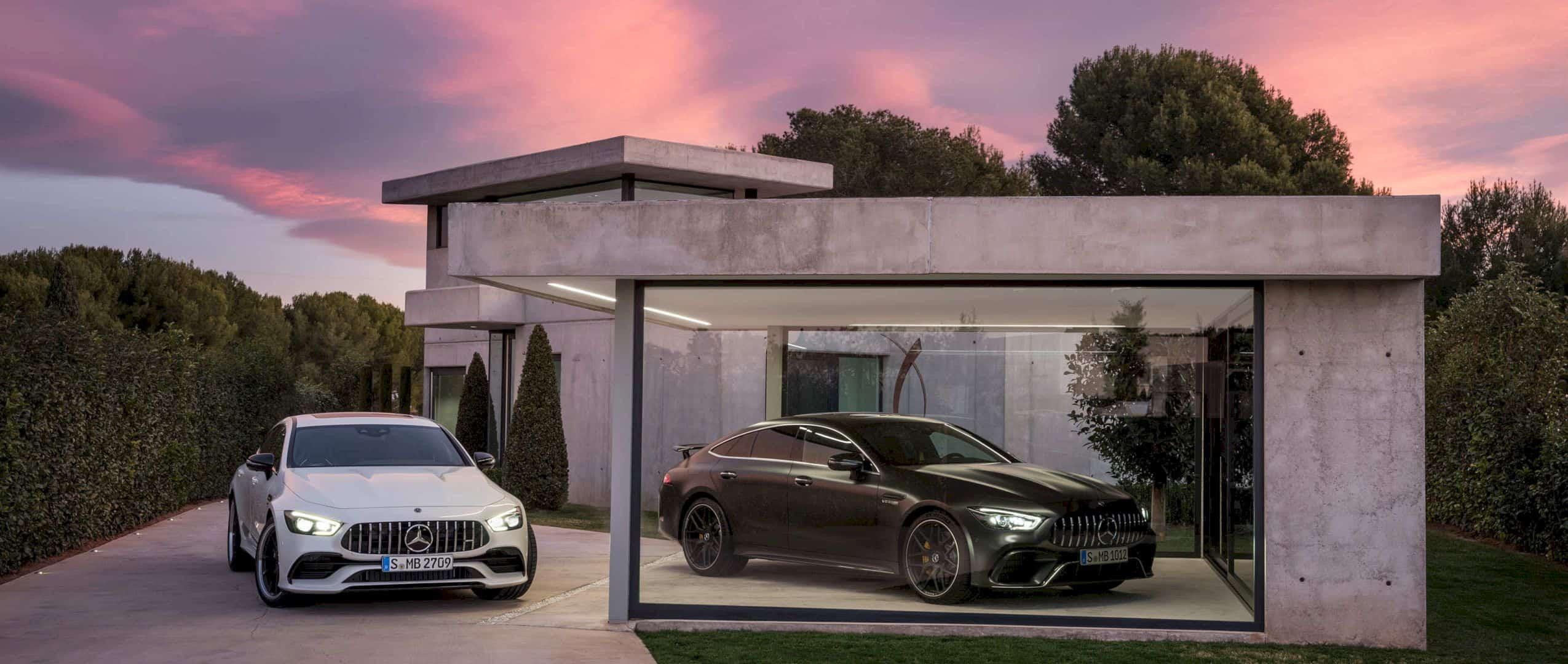 Mercedes Amg Gt 4 Door Coupé 5