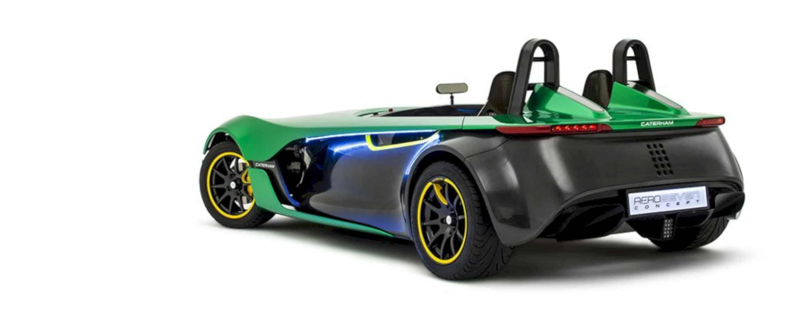 The Aero Seven Concept 6