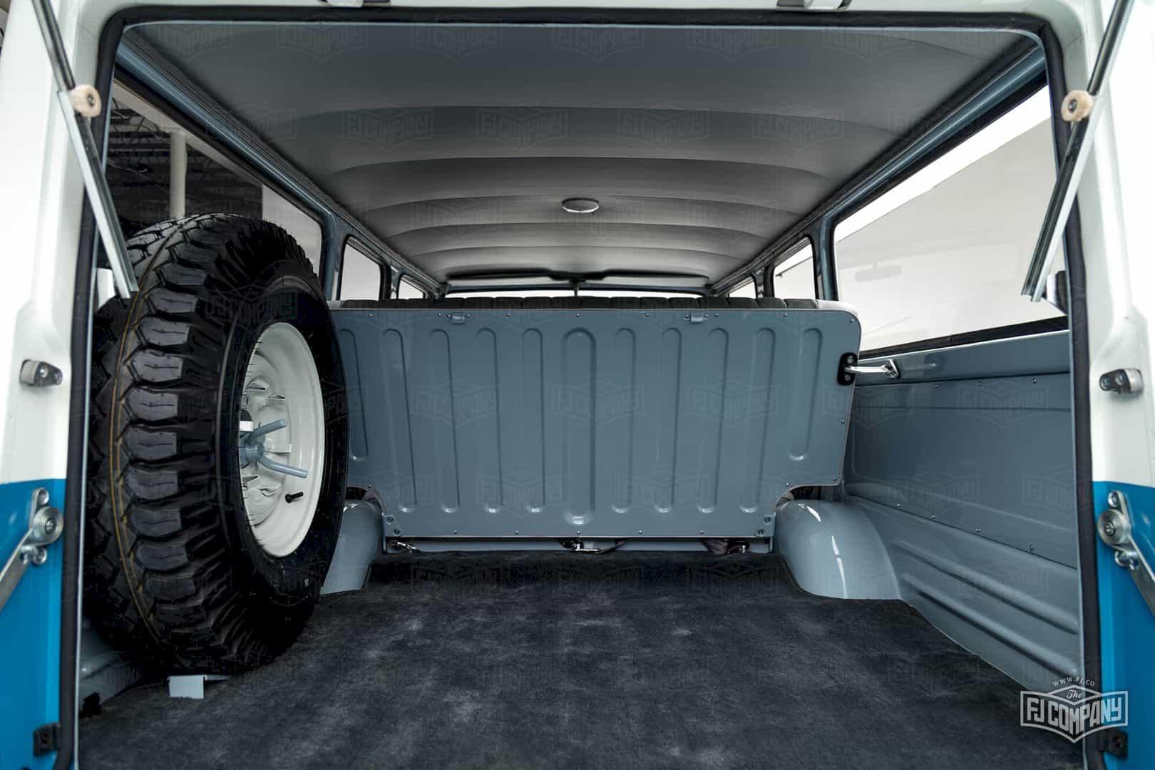 1967 Toyota Land Cruiser Fj45lv Capri Blue 3