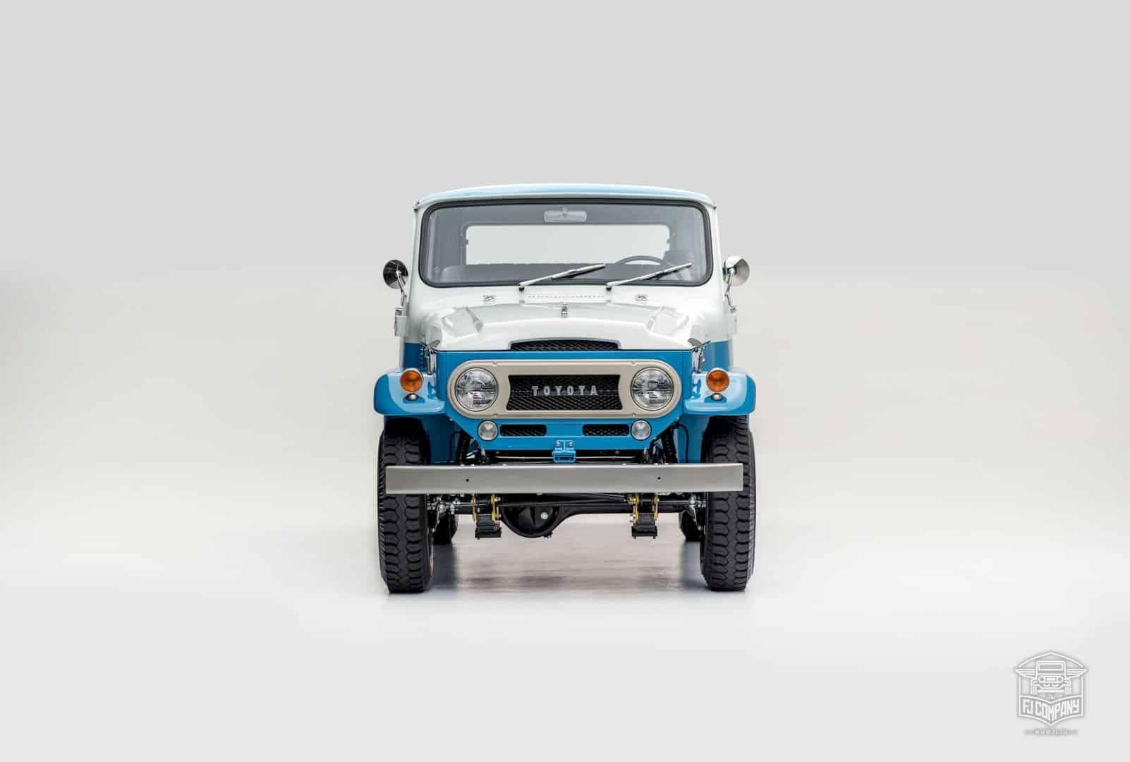 1967 Toyota Land Cruiser Fj45lv Capri Blue 5