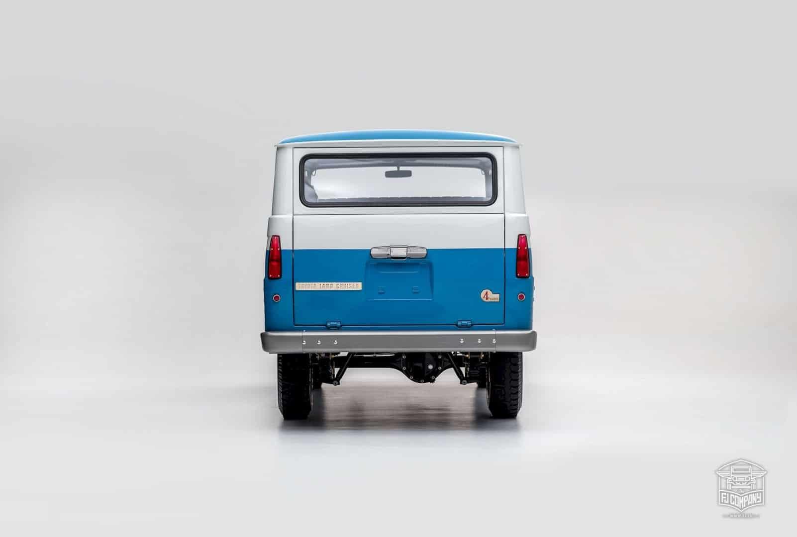 1967 Toyota Land Cruiser Fj45lv Capri Blue 6