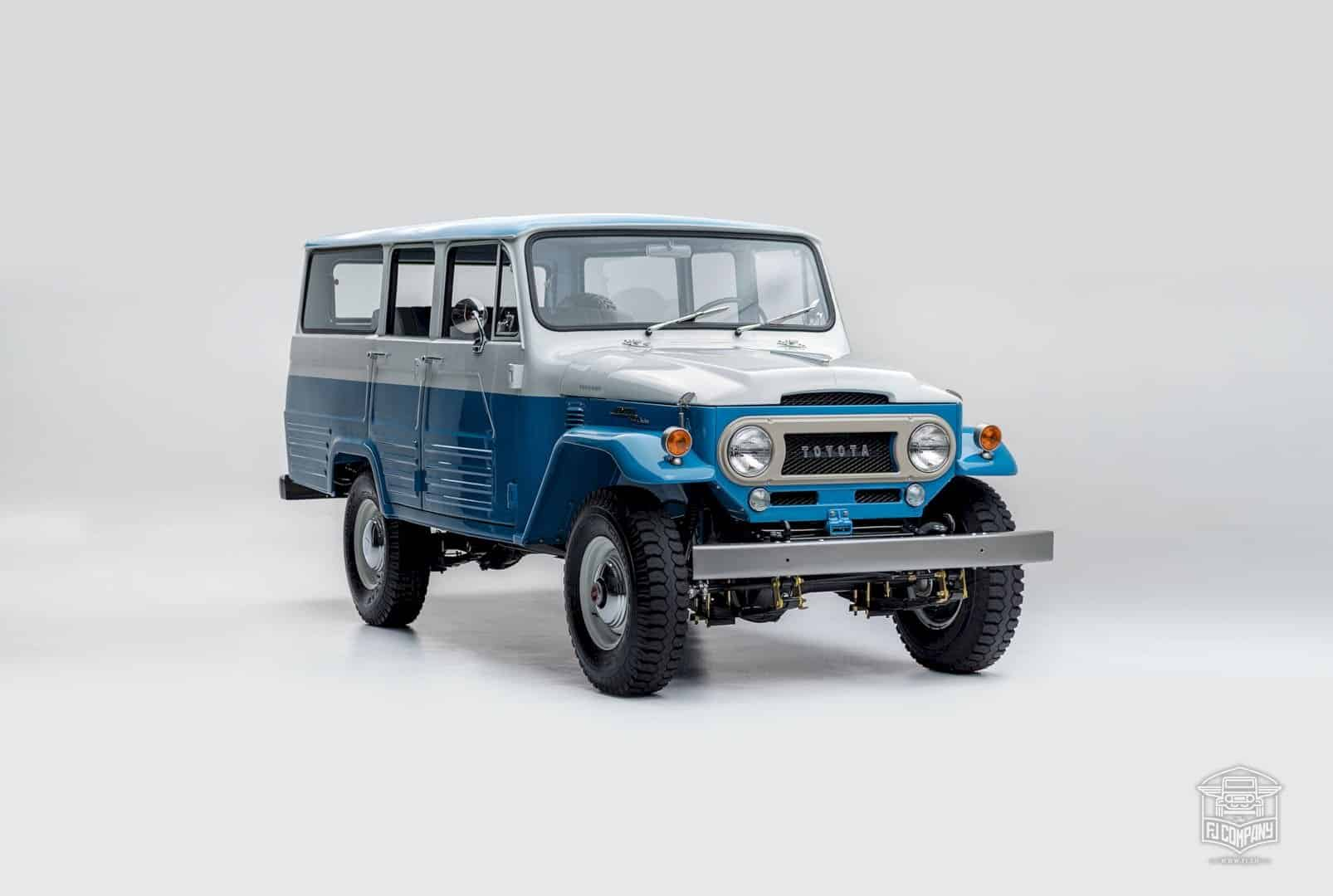 1967 Toyota Land Cruiser Fj45lv Capri Blue 8