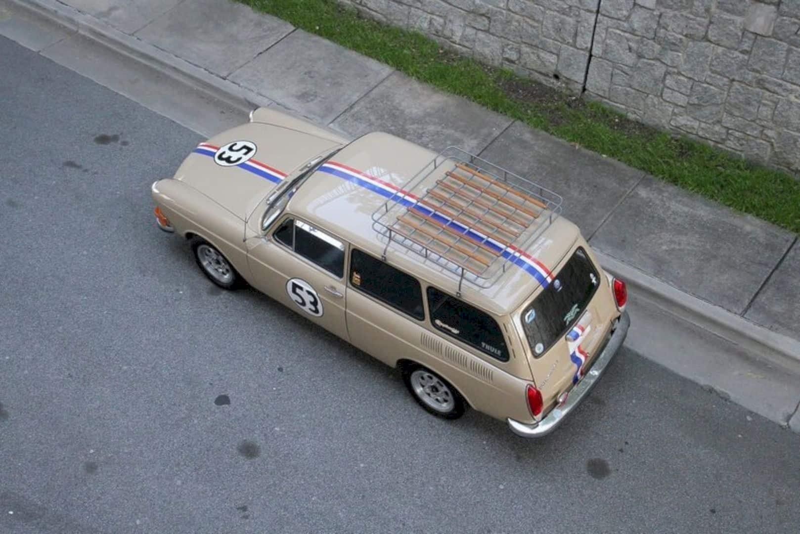 1972 Volkswagen Type 3 Squareback 8